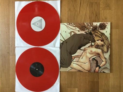 """Toundra """"II"""" DLP Repress Red Vinyl"""