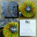 Multi-coloured splatter Vinyl