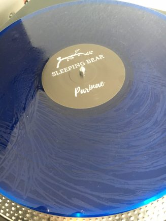 SLEEPING BEAR blue vinyl