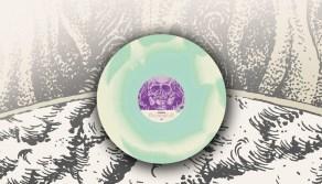electric blue bone vinyl