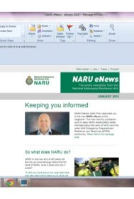 NARU eNews_