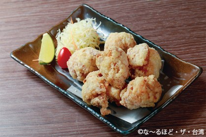 華為鳥炸雞(水炊き唐揚げ/220元)