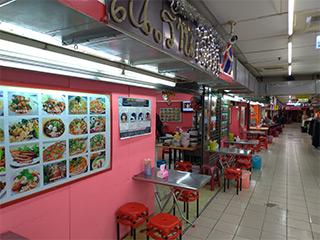 3階、タイ料理食堂