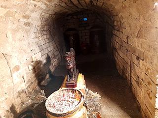 日本時代に作られた火葬場の炉