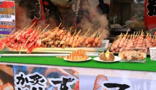 新松戸祭り(2019)けやき通りに屋台を出す地元レストランと屋台の位置はこちら!