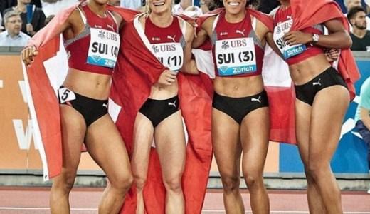 リレーのスイス女子チームが美人選手揃いでヤバい!メンバーのインスタ画像をチェック!