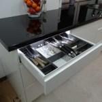 Kuchnia fronty MDF szuflada BLUM
