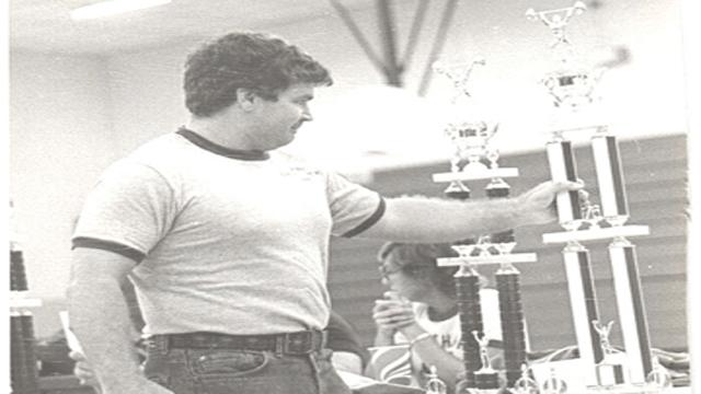 Richard Peters in 1978 (First Powerlifting Meet)