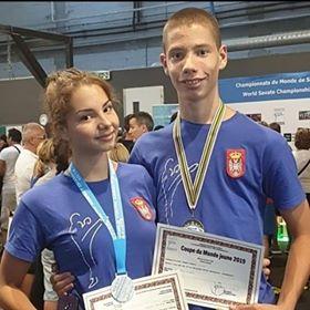Ponos Novog Sada: Brat i sestra nižu uspehe u savate boksu 5