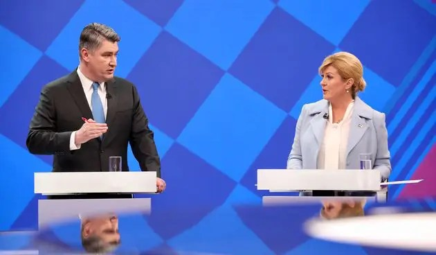 Predizborni duel Kolinde i Milanovića: Pričalo se i o Srbiji (VIDEO) 1