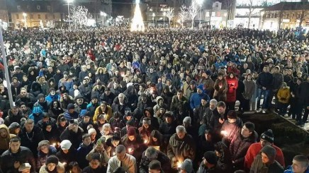 NA LICU MESTA: Fotografije sa protesta u Crnoj Gori 1