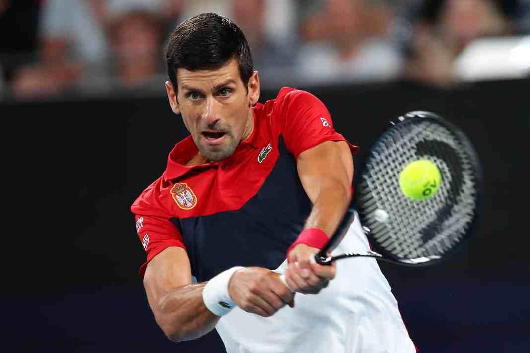 """Đoković pobedom nad Nadalom u još jednom ,,klasiku"""" izjednačio na 1:1! Sve će se odlučivati u dublu! (FOTO) (VIDEO) 1"""