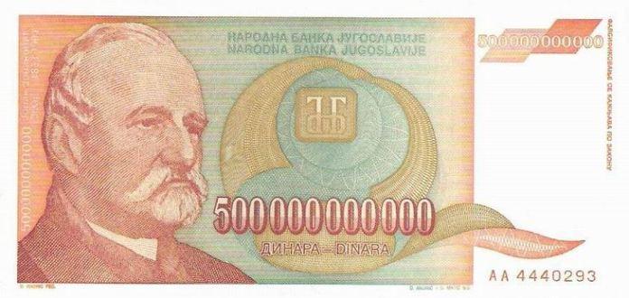 Tačno 25 godina od najveće hiperinflacije u Jugoslaviji. Od prosečne plate mogla se kupiti samo... (VIDEO) 1