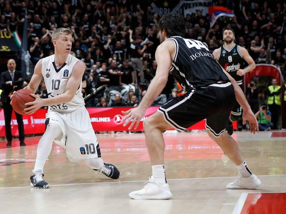 PREOKRET U BOLONJI: Partizan pobedom protiv Virtusa osigurao prvo mesto u grupi! (VIDEO) 1