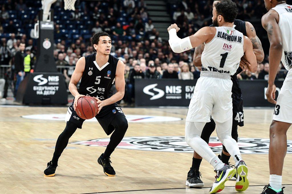 Partizan pobedom protiv Trenta potvrdio prvo mesto u grupi, sledi Uniks! (VIDEO) 1