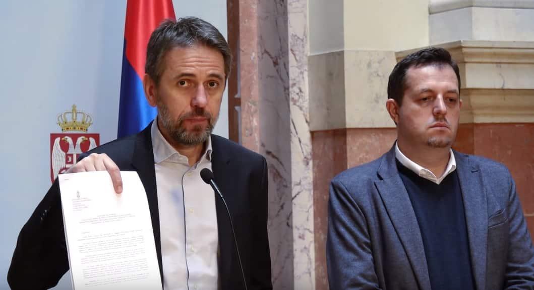 """RADULOVIĆ ŠOKIRAO: """"Ovo je državni udar. Vlast namerno diže paniku"""" (VIDEO) - Naša Borba"""