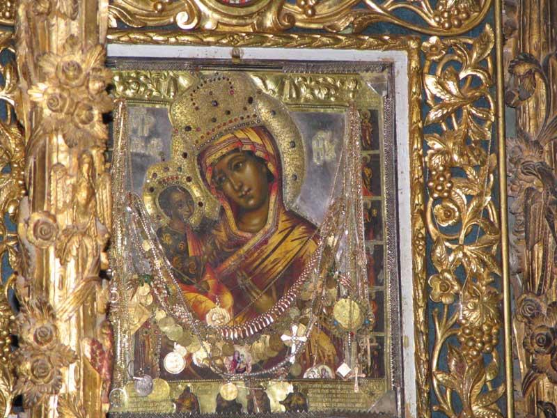 Izbavljenje naroda u Peći usled kolere 1911. godine nakon litije sa ikonom Presvete Bogorodice- Pećke Krasnice 1