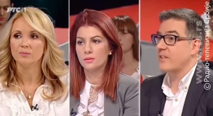 Jovana Stojković u duelu sa  Darijom Kisić Tepavčević na RTS! (VIDEO) 1