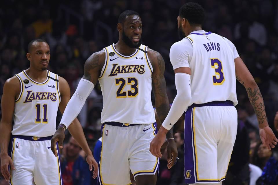 """NBA: ''Kralj"""" odveo Lejkerse u finale konferencije posle 10 godina! (VIDEO) 1"""