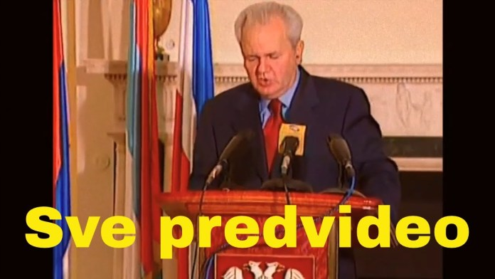 SLOBODAN MILOŠEVIĆ KAO 'PROROK': 'Kosovo će biti izgubljeno, sva državna svojina prodata u bescenje' (VIDEO) 2