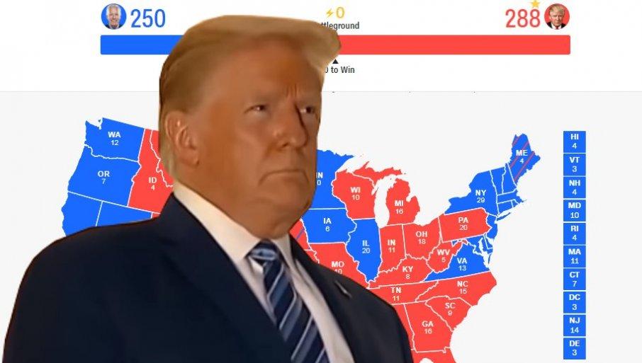 DANAS GLASA ELEKTORSKI KOLEDŽ: Kraj izbora u Americi ili početak građanskog rata! 1