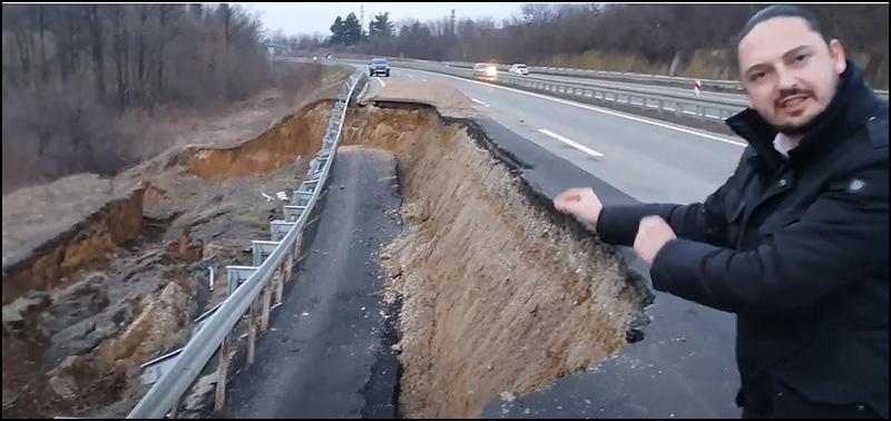 Odron na tek izgrađenom autoputu, plaćenom desetinama miliona evra 7