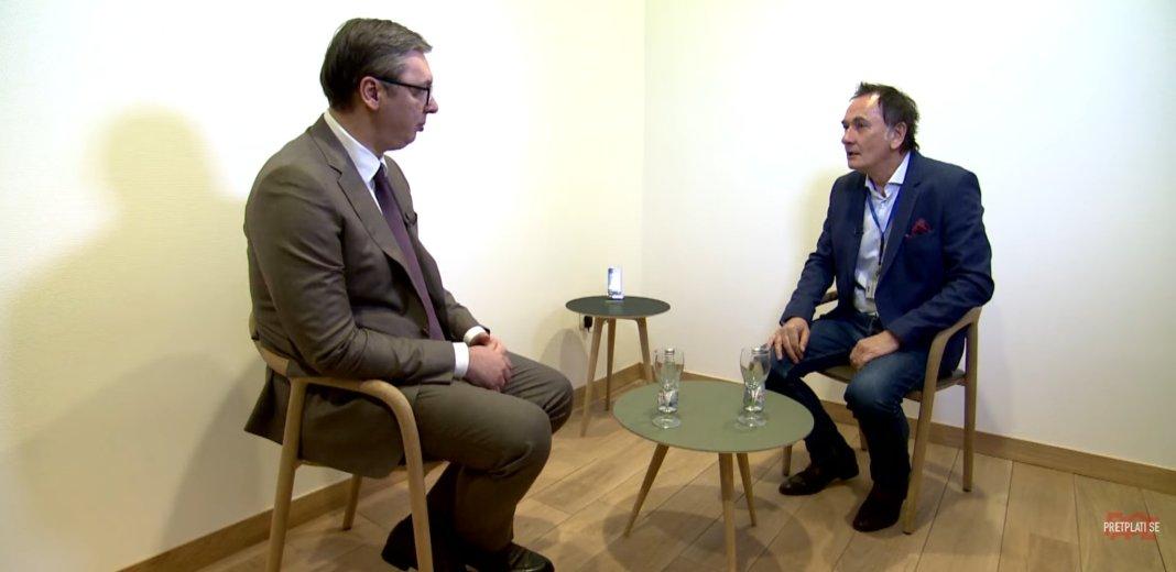 VUČIĆ URLA ZA BOSANSKU TV: Samo se magarac ne menja, hoće da pravi novu Jugoslaviju 1