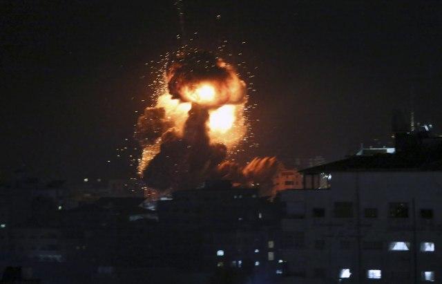 GORE PALESTINA I IZRAEL: Raketni napadi, vazdušni udari, RATNO STANJE! 1