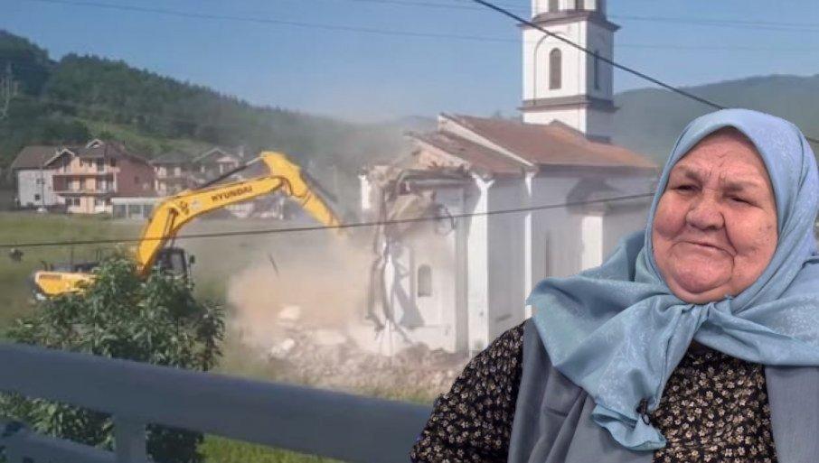 TRI DANA POSLE RUŠENJA CRKVE: Hospitalizovana Fata Orlović! 1