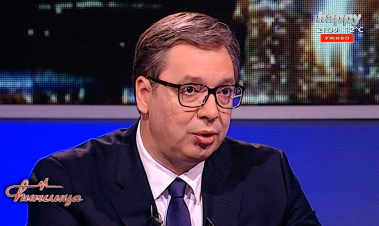 VUČIĆ U PROGRAMU OTVORENO O IZDAJI KOSOVA: Zbog ovoga mora da padne! 1