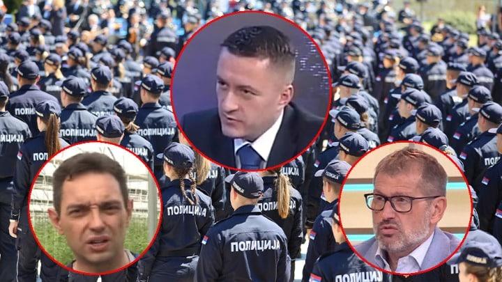 ZATAŠKAVAJU NEDISCIPLINU POLICIJE: Vulin i Rebić ne kontrolišu MUP! 1