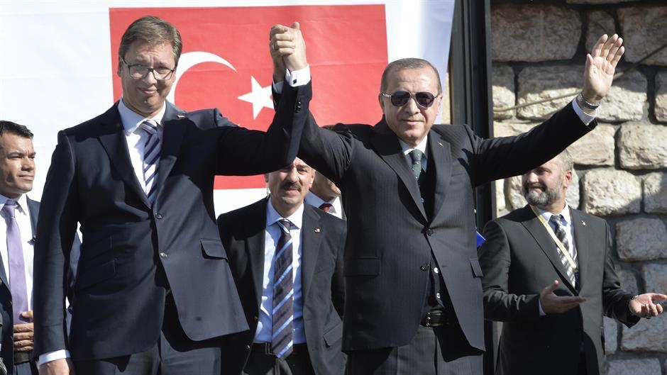 VUČIĆEV PRIJATELJI I BRAT: ERDOGAN Radim na povećanju broja država koje će priznati Kosovo! 1