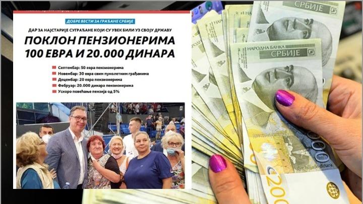 NE BI VIDELI BELOG DINARA: Vučić zbog Belivuka maže oči penzionerima! 3