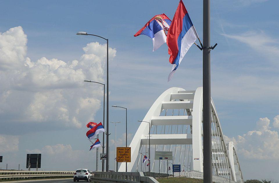 NAPREDNJACI PATRIOTE I SRBI O TROŠKU NARODA: Zastave i jarboli u Novom Sadu plaćeni 1,3 miliona dinara! 1