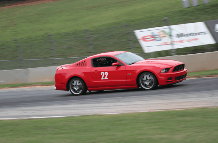 HPDE drivers can learn a lot about heavy braking going into the Turn 10A chicane at Road Atlanta.
