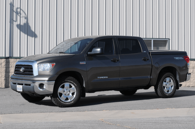 The new look is an amazing transformation from a stock Tundra to what we see now.