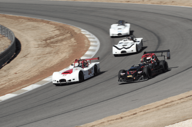 Seventeen Thunder Roadsters took to the track at Barber Motorsports Park.
