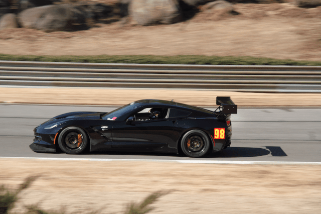 Well, that didn't take long. A 2014 Corvette Stingray spotted on track.