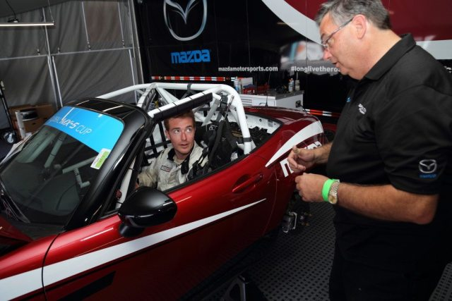 NASA Grand Champion Matt Powers talks with Glenn Long about the new Global MX-5 Cup Car.