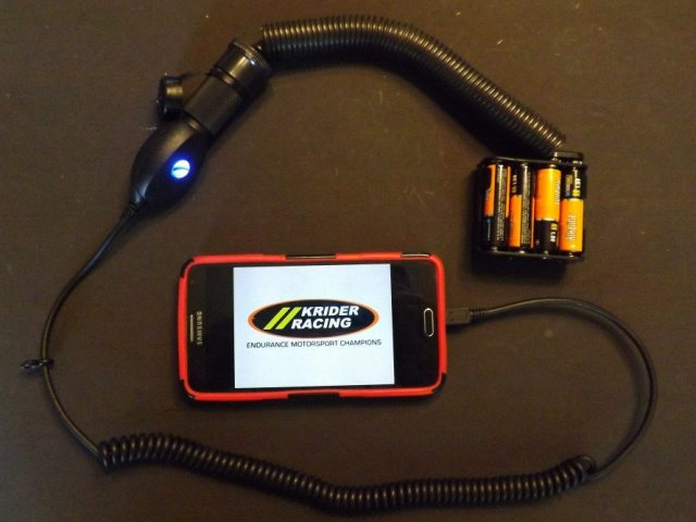 To do a quick check to ensure your portable power source is working, simply plug in a cellphone charger and see if things light up like they should. We have all run out of cellphone power at some point. Made for a lot less than some aftermarket portable power systems, this device works anywhere at any time.