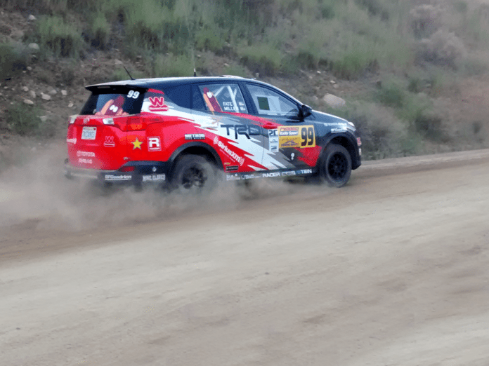 Ryan Millen and co-driver Christina Fate drove their brand-new Toyota RAV4 to third-place finish at Idaho.