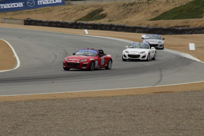 As the race progressed, the top three, Matt Powers, Corey Rueth and Jeremy Croiset were up front running their own race.