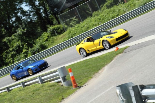 HPDE classes were healthy at Lime Rock, with cars of all shapes and sizes.