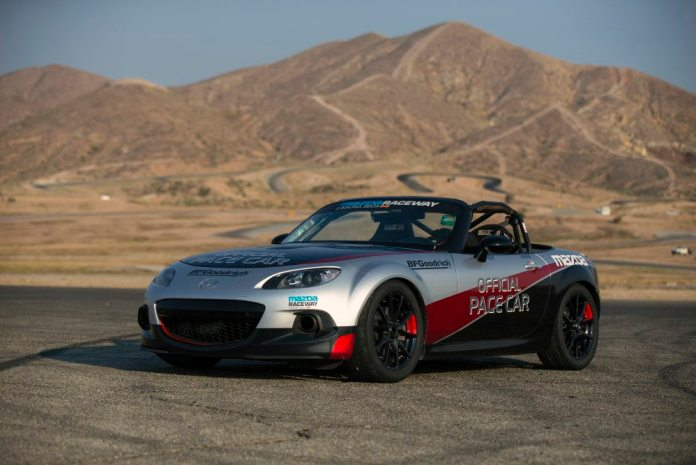 Mazda Media Day at Willow Springs