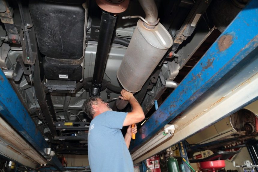 Breathing Apparatus - Installing a Banks Monster exhaust system on a