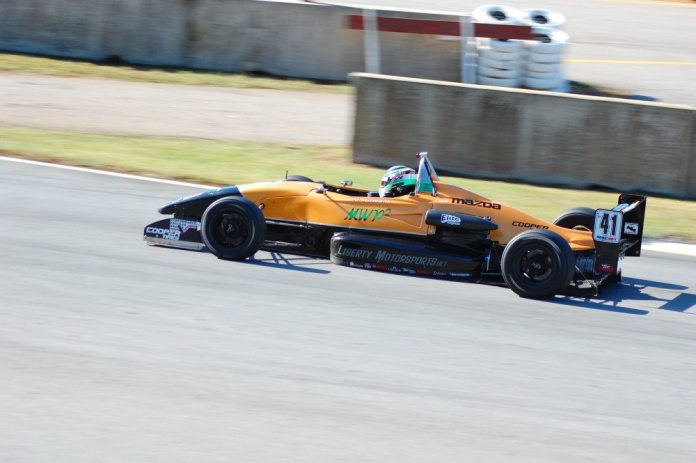 Powers' racing career took a big leap when he entered the USF2000 Racing Championship series.