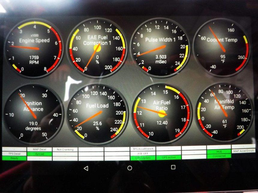 Tablet Dashboard - NASA Speed News Magazine