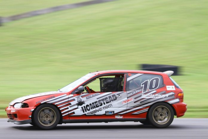 Erik Olson lost VTEC and fifth gear, but still took second place on Honda Challenge 2.