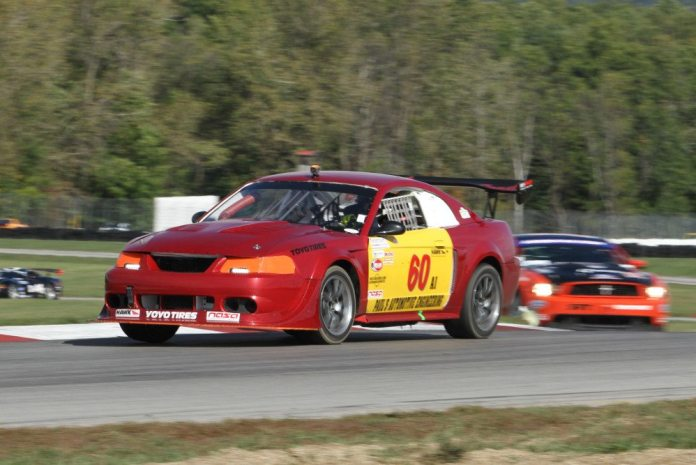 Todd Rogers picked up a win and a second-place finish at Mid-Ohio in October.