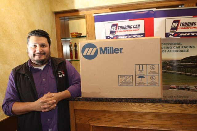 The TNI Racing Team won the Miller Welders Crew Chief of the Year award.
